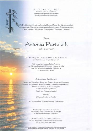 Antonia Partoloth