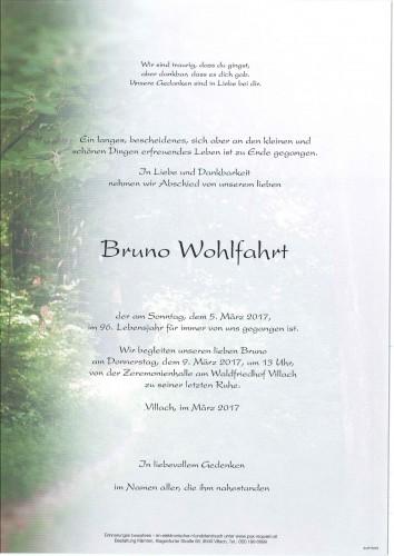 Bruno Wohlfahrt