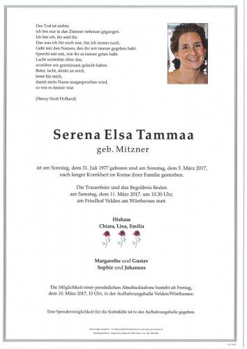 Serena Elsa Tammaa
