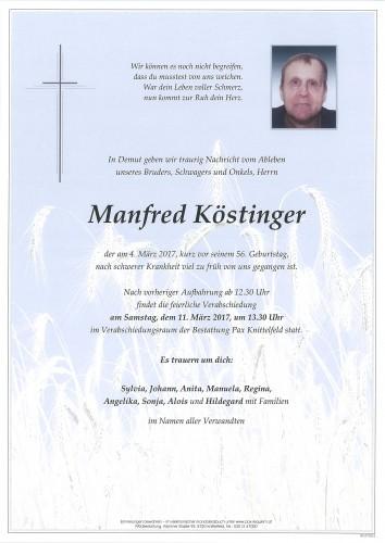 Manfred Köstinger