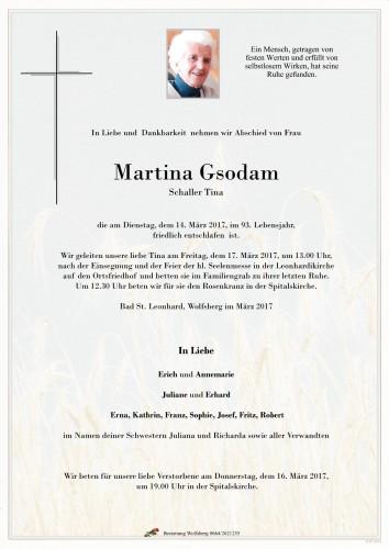 Martina Gsodam