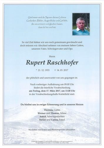 Rupert Raschhofer
