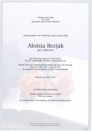 Aloisia Bezjak