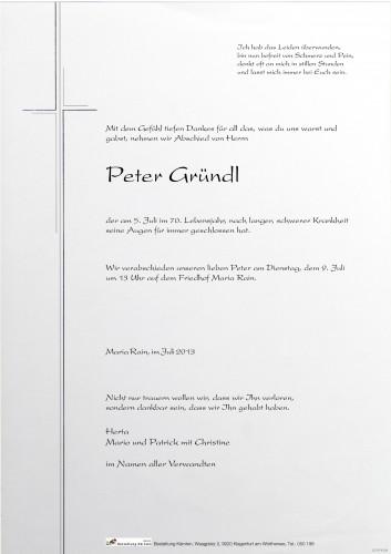 Peter Gründl