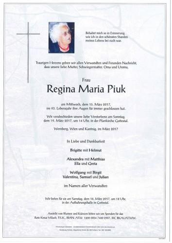 Regina Maria Piuk