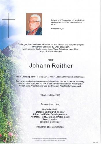 Johann Roither