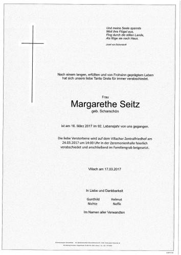 Seitz Margareta