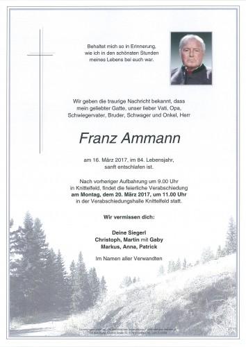 Franz Ammann