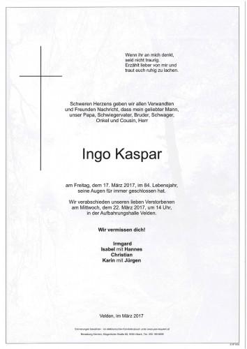 Ingo Kaspar