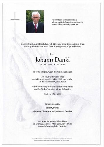 Johann Dankl