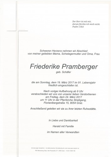 Friederike Pramberger