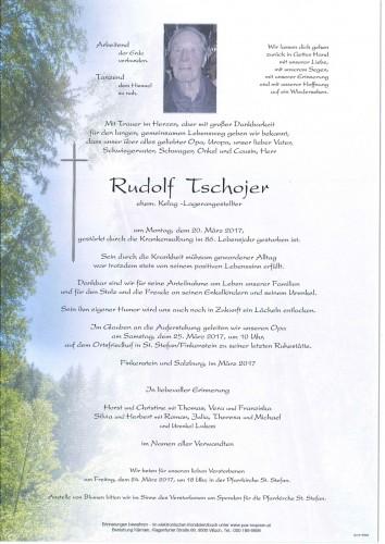 Rudolf Tschojer
