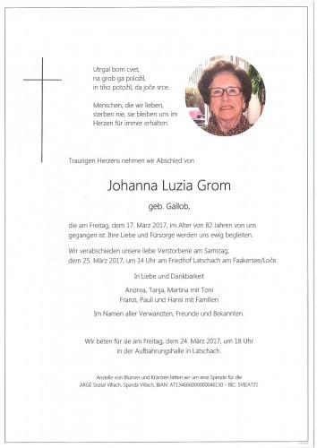 Johanna Grom