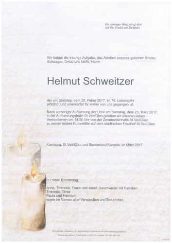 Helmut Schweitzer