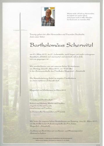 Bartholomäus Scherwitzl