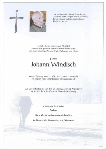 Johann Windisch