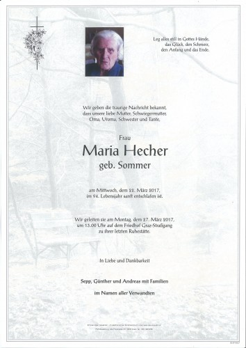Maria Hecher