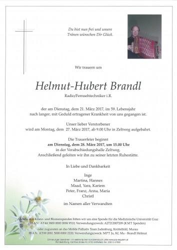 Helmut-Hubert Brandl