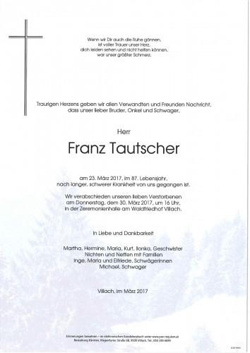 Tautscher Franz