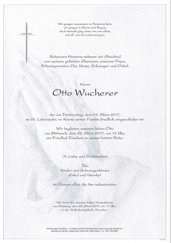 Otto Wucherer