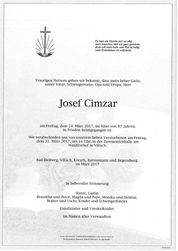 Josef Cimzar