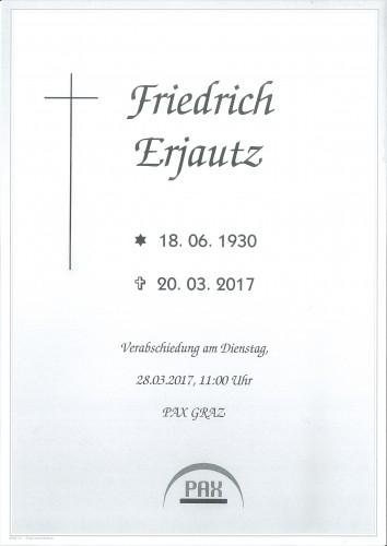 Friedrich Erjautz sen.