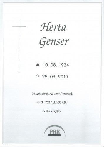 Herta Genser