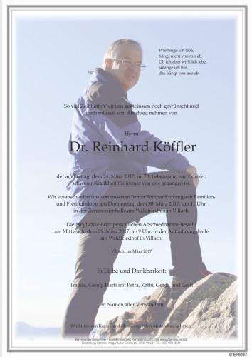 Dr. Reinhard Köffler