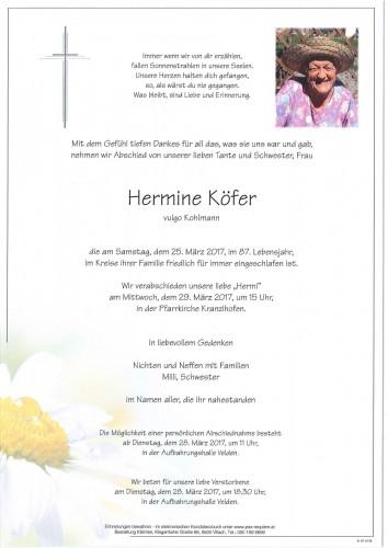 Hermine Köfer