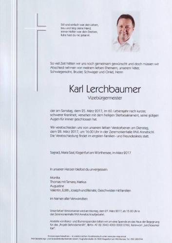 Karl Lerchbaumer