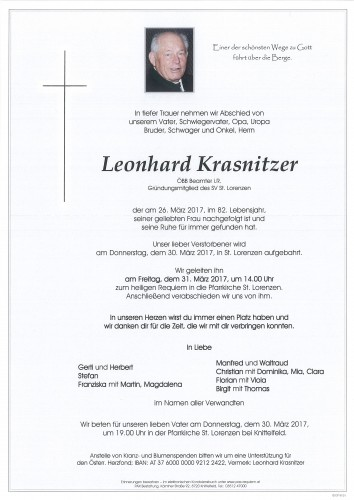 Leonhard Krasnitzer