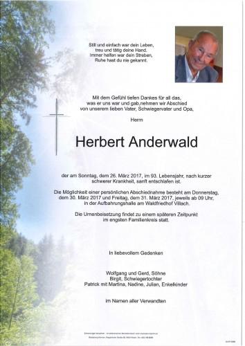 Herbert Anderwald
