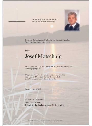 Josef Motschnig
