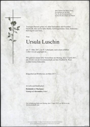 Ursula Luschin