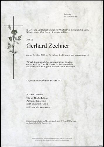 Gerhard Zechner