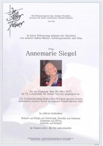 Annemarie Siegel