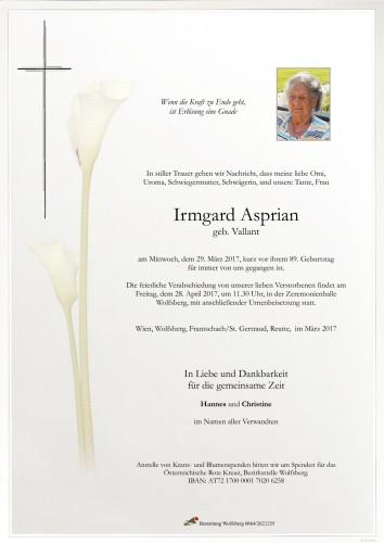 Irmgard Asprian