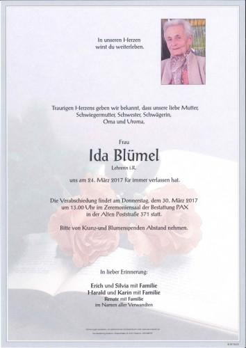 Ida Blümel