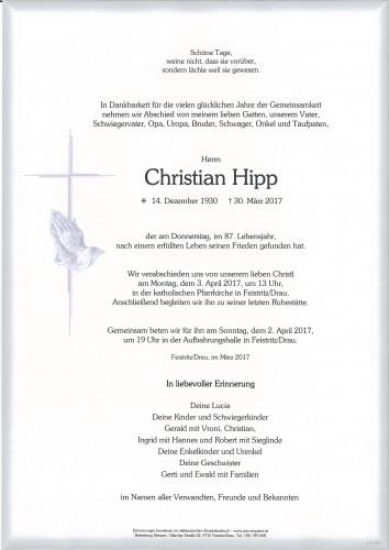 Christian Hipp