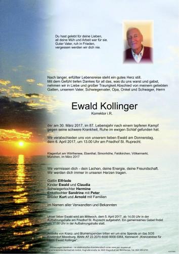 Ewald Kollinger