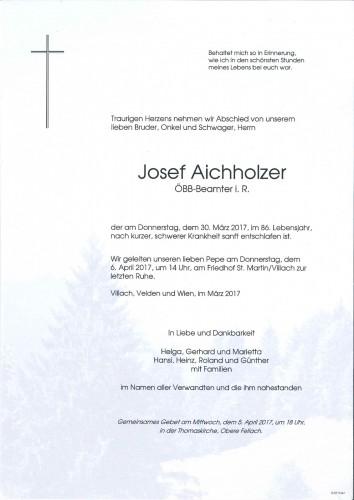 Josef Aichholzer