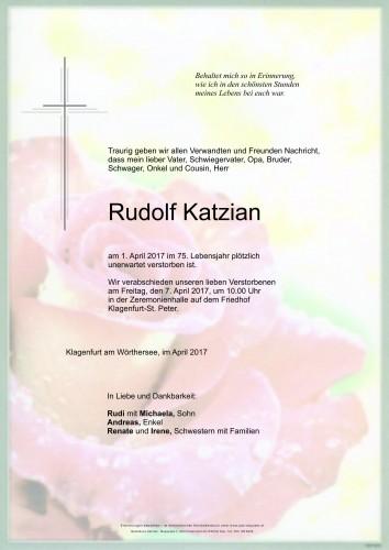 Rudolf Katzian