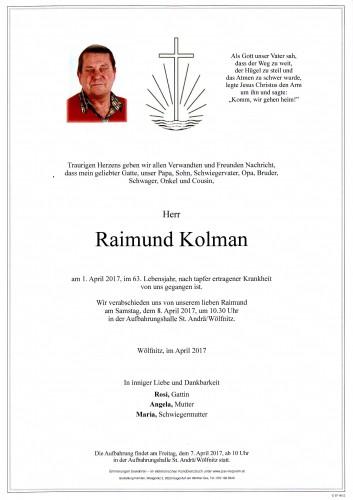 Raimund Kolman