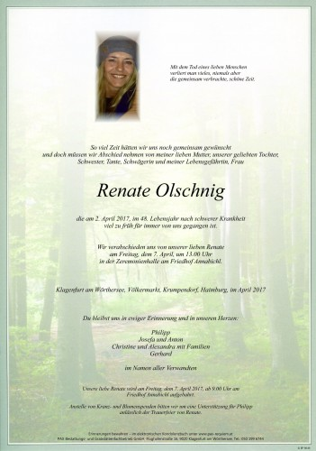 Renate Olschnig