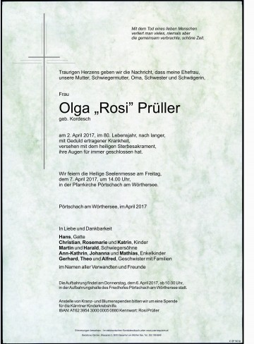 "Olga ""Rosi"" Prüller"