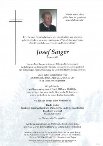 Josef Saiger