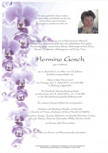 Hermine Gosch