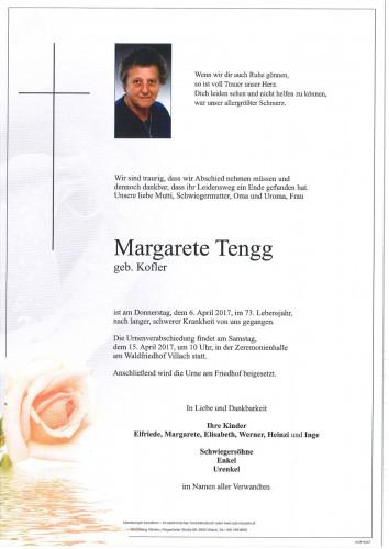 Margarete Tengg