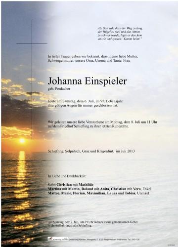 Johanna Einspieler