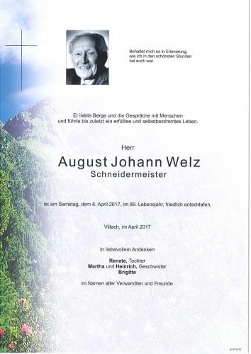 August Johann Welz